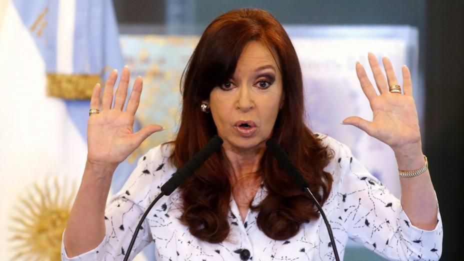 Cristina Kirchner repudió el
