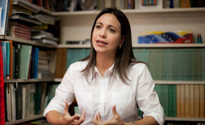 Machado: La paz de Colombia depende de la liberación de Venezuela
