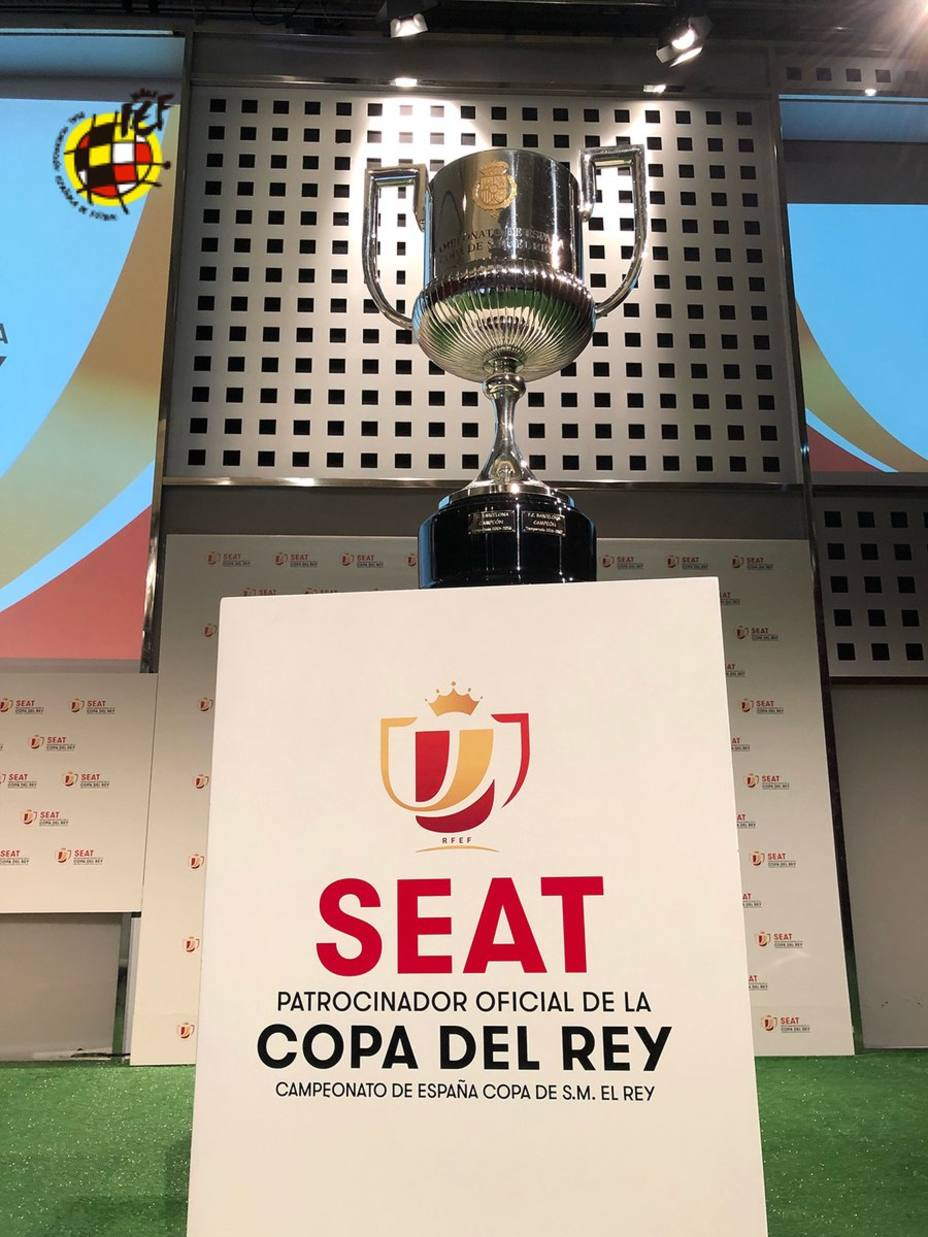 Definieron los cruces de los cuartos de final de la Copa del Rey