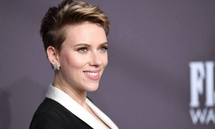 La actriz estadounidense Scarlett