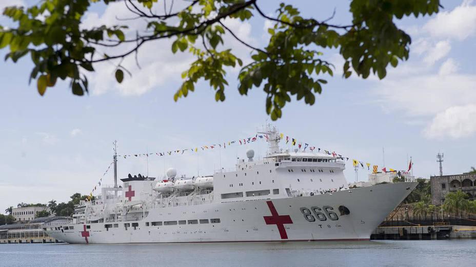 Estamos orgullosos de ayudar a venezolanos con el buque USNS Comfort — Pompeo