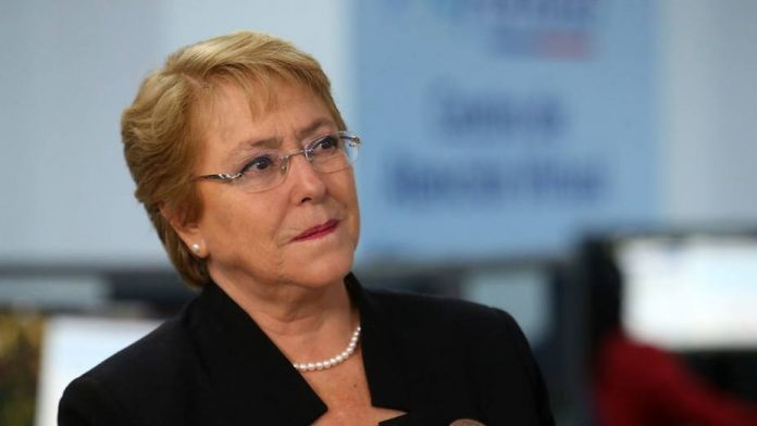 Bachelet -mapuches