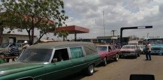 transportistas fúnebres