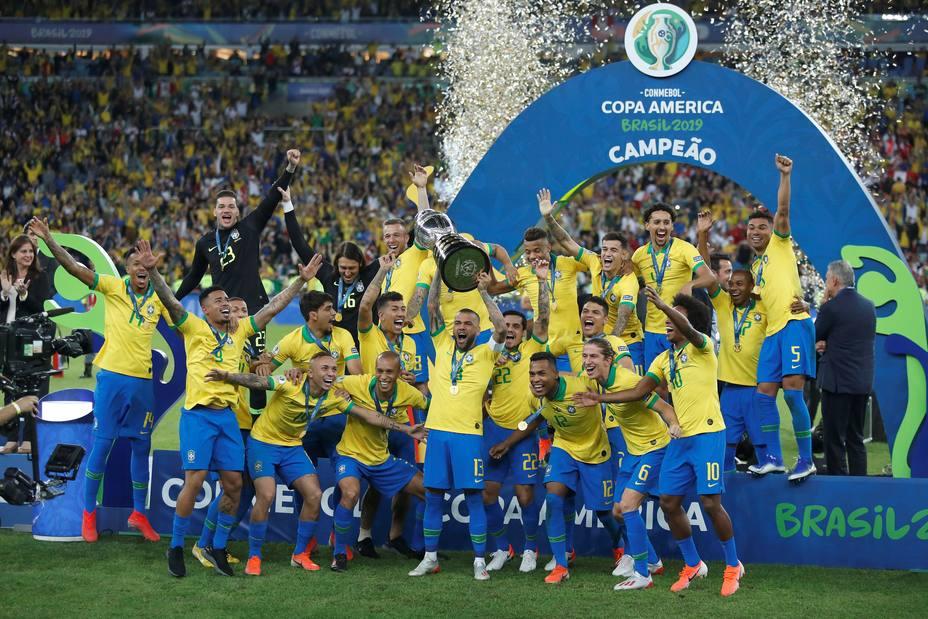 """Resultado de imagen de brasil campeón copa américa 2019"""""""