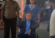 Alberto Fujimori es internado en una clínica por problemas cardíacos