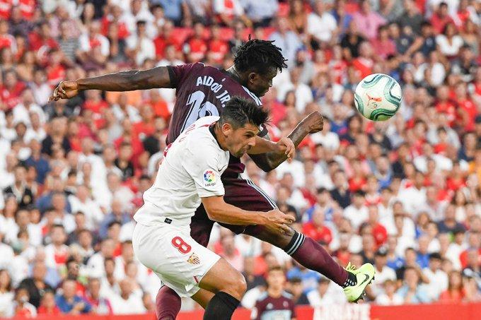 Rescata el Celta empate en Sevilla