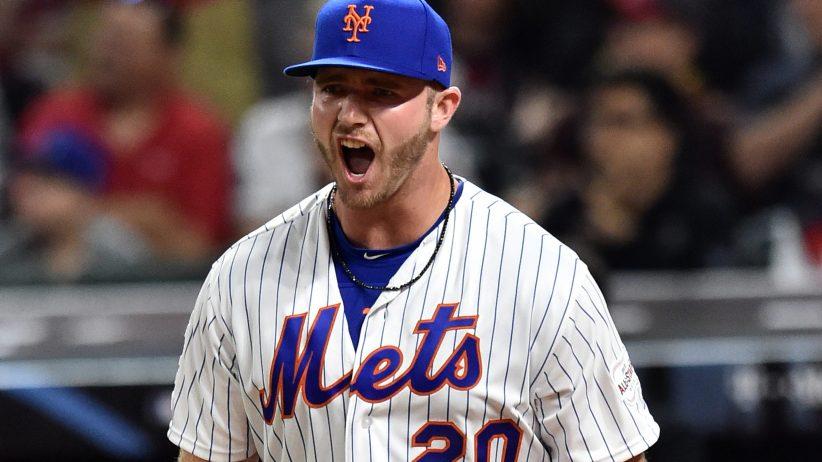 Alonso pega HR histórico y Mets ganan la serie