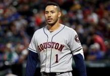 Carlos Correa volvió a la lista de lesionados por 10 días