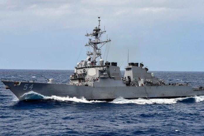 Armada de Estados Unidos - Bloqueo naval a Venezuela