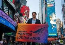 Javier Bardem pidió en la ONU un tratado global de los océanos