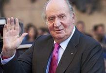 El rey Juan Carlos de España