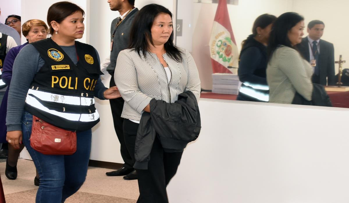 Keiko Fujimori: Poder Judicial reduce prisión preventiva de 36 a 18 meses