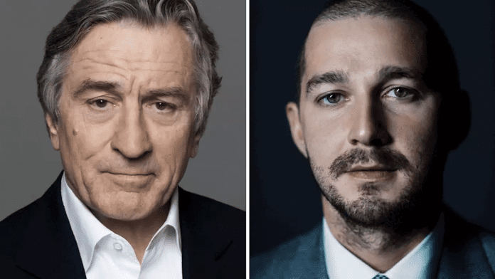 Robert De Niro y Shia LaBeouf protagonizarán After Exile
