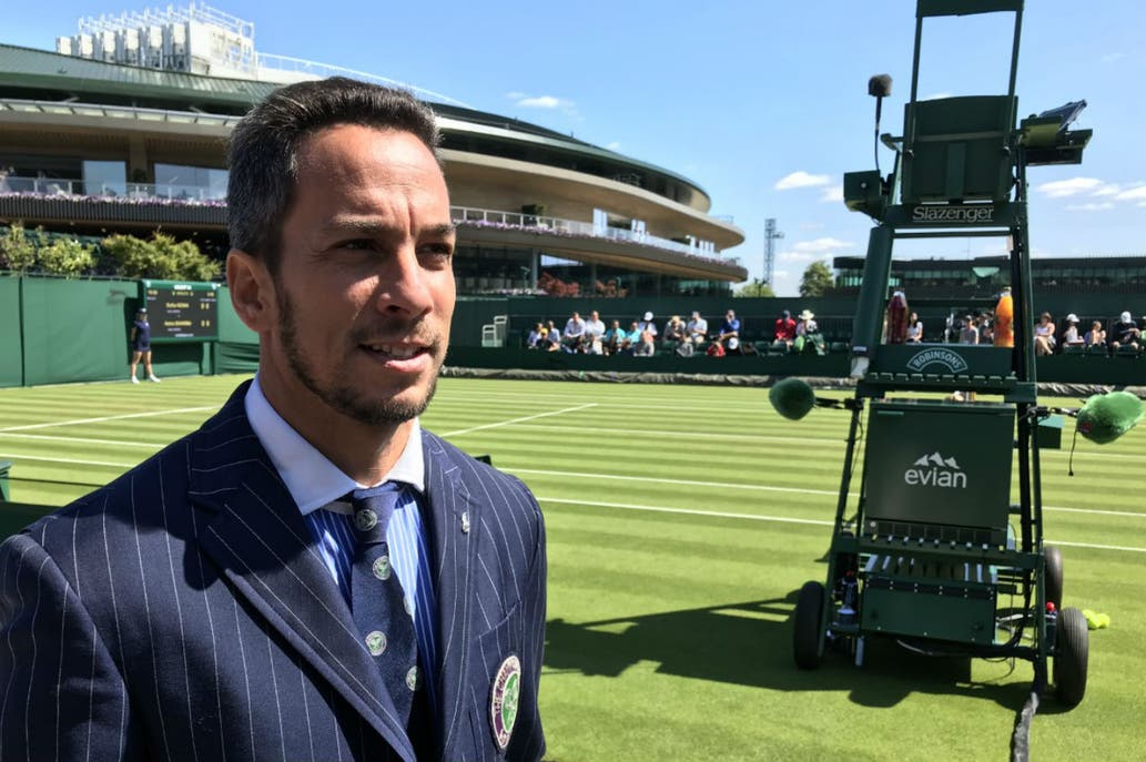 Echaron al juez argentino de la final de Wimbledon