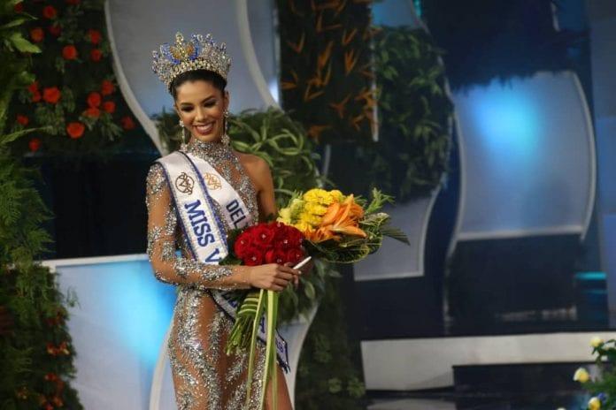 Thalia Olvino se coronó como Miss Venezuela 2019