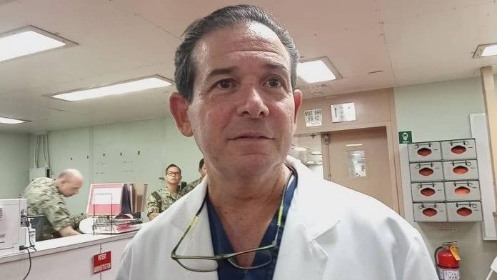 Médicos y voluntarios venezolanos