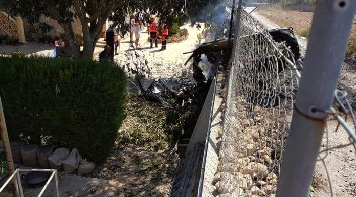 Cinco muertos al chocar un helicóptero y un ultraligero en Mallorca