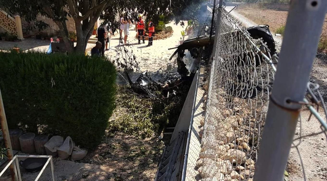 Siete muertos al chocar un helicóptero y una avioneta en Mallorca