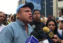 Protesta de trabajadores públicos