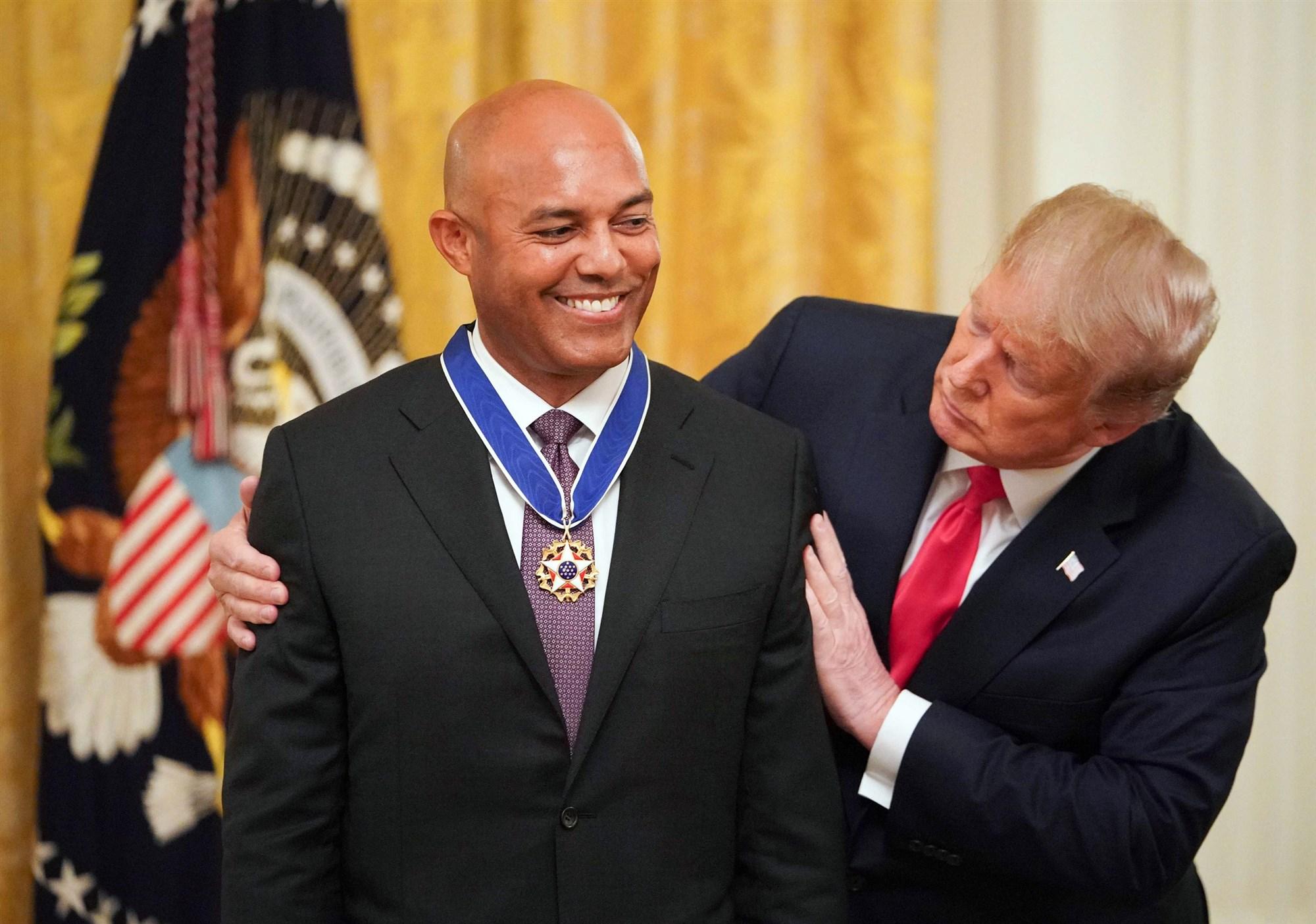 Presidente Trump otorga Medalla de la Libertad a Mariano Rivera