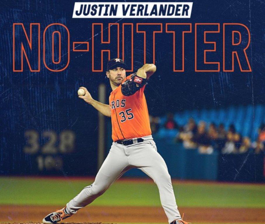 Justin Verlander Sin Hit a Blue Jays