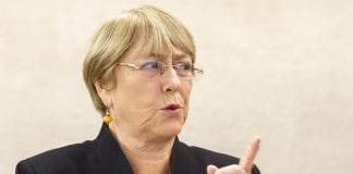 Bachelet alertó sobre la vulnerabilidad de migrantes en Latinoamérica ante pandemia
