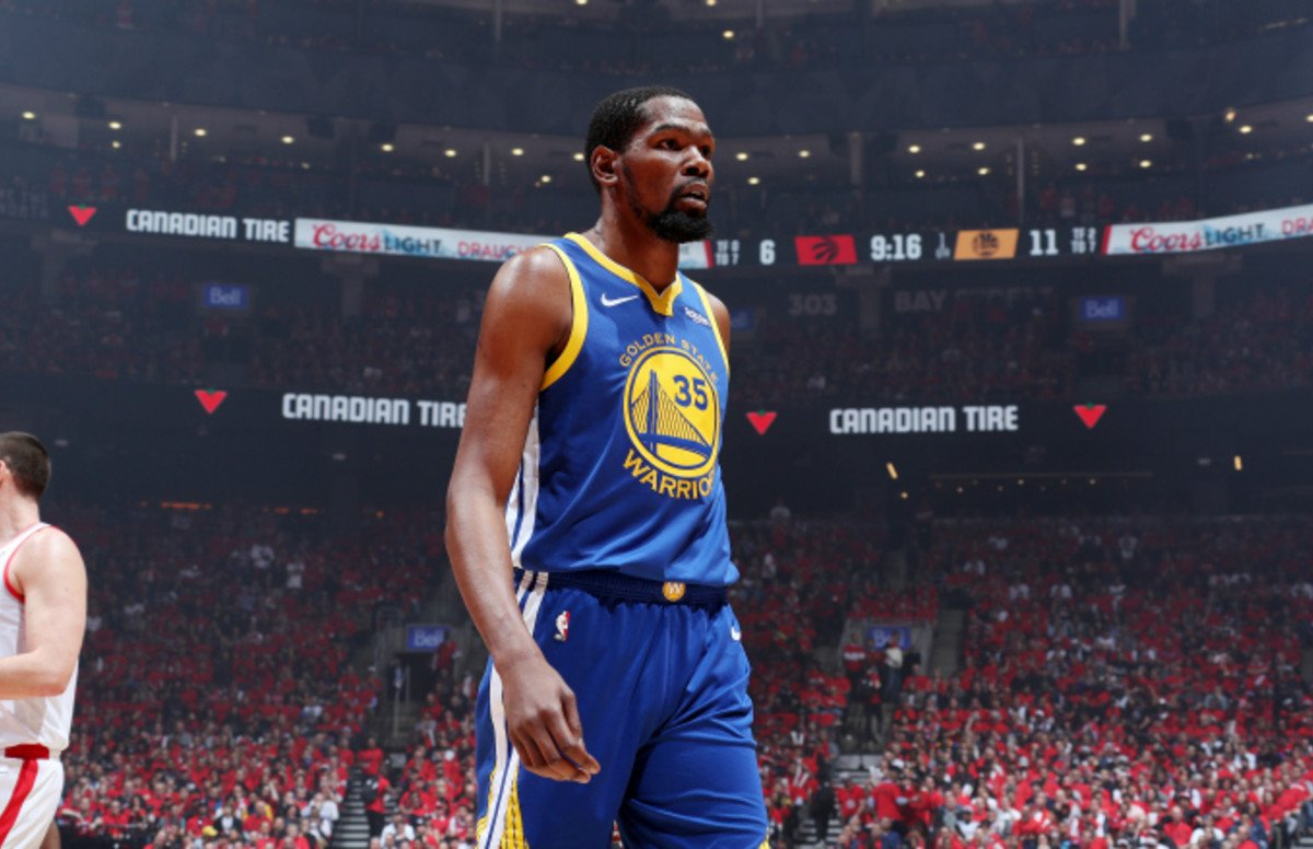 LESIONADO - Kevin Durant estará fuera la próxima temporada