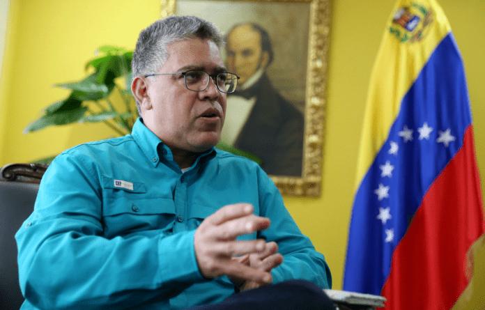 Elías Jaua - Actores políticos, Juan Guaidó