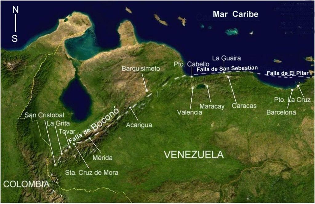 Fallas de Venezuela
