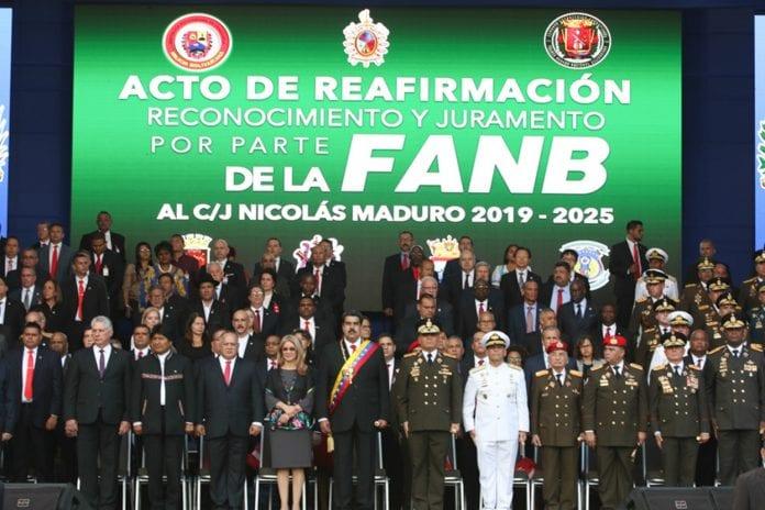 Nicolás Maduro - FANB - John Magdaleno
