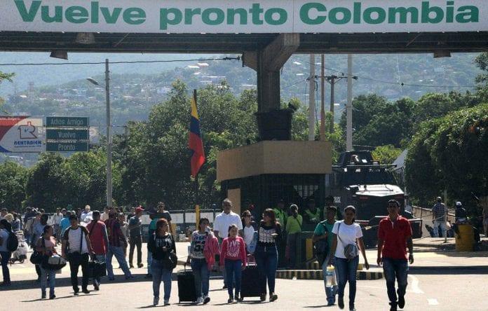frontera-Venezolanos-Cúcuta-Colombia