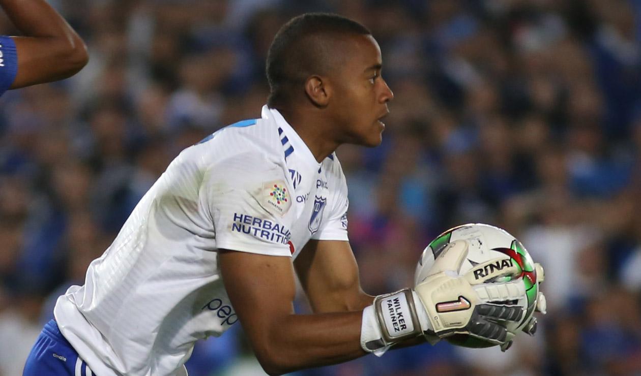 Wuilker Faríñez renueva su contrato con Millonarios FC por tres años
