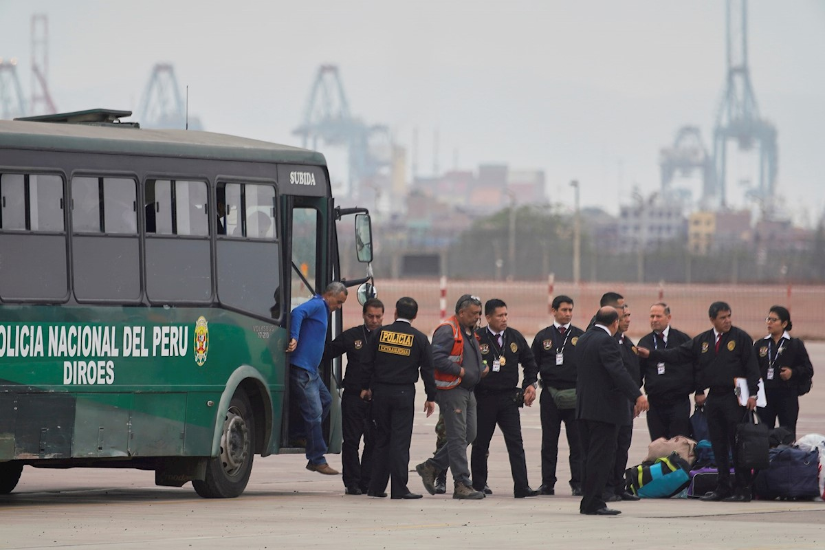 Mundo Perú expulsó a 45 venezolanos con antecedentes penales