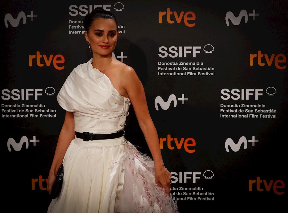 Penélope Cruz Premio Donostia Del 67 Festival De Cine De: El Emotivo Discurso De Penélope Cruz Al Recibir El Premio