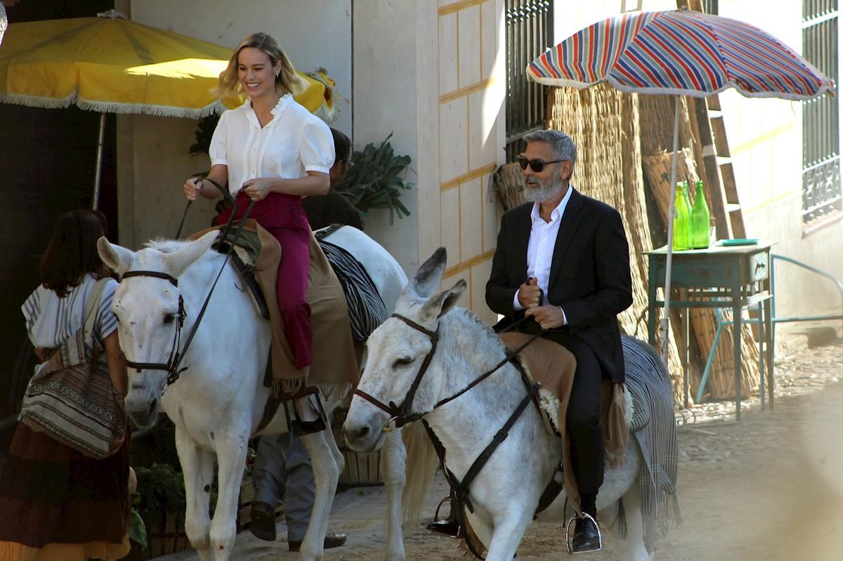 George Clooney a lo Sancho Panza en Navalcarnero
