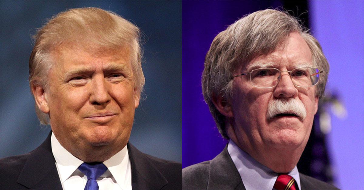 Donald Trump destituye a su Asesor de Seguridad Nacional John Bolton