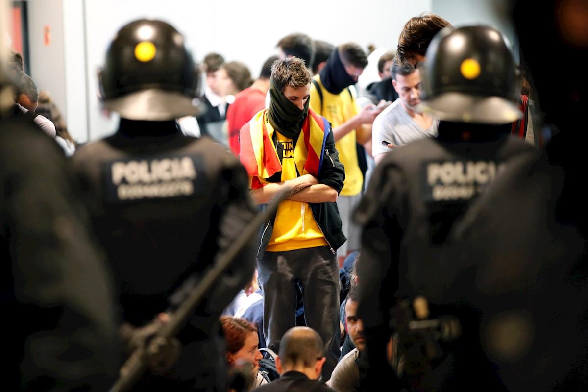 Resultado de imagen para cataluña protestas