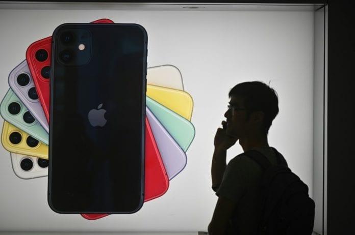 Apple aplicación Hong Kong