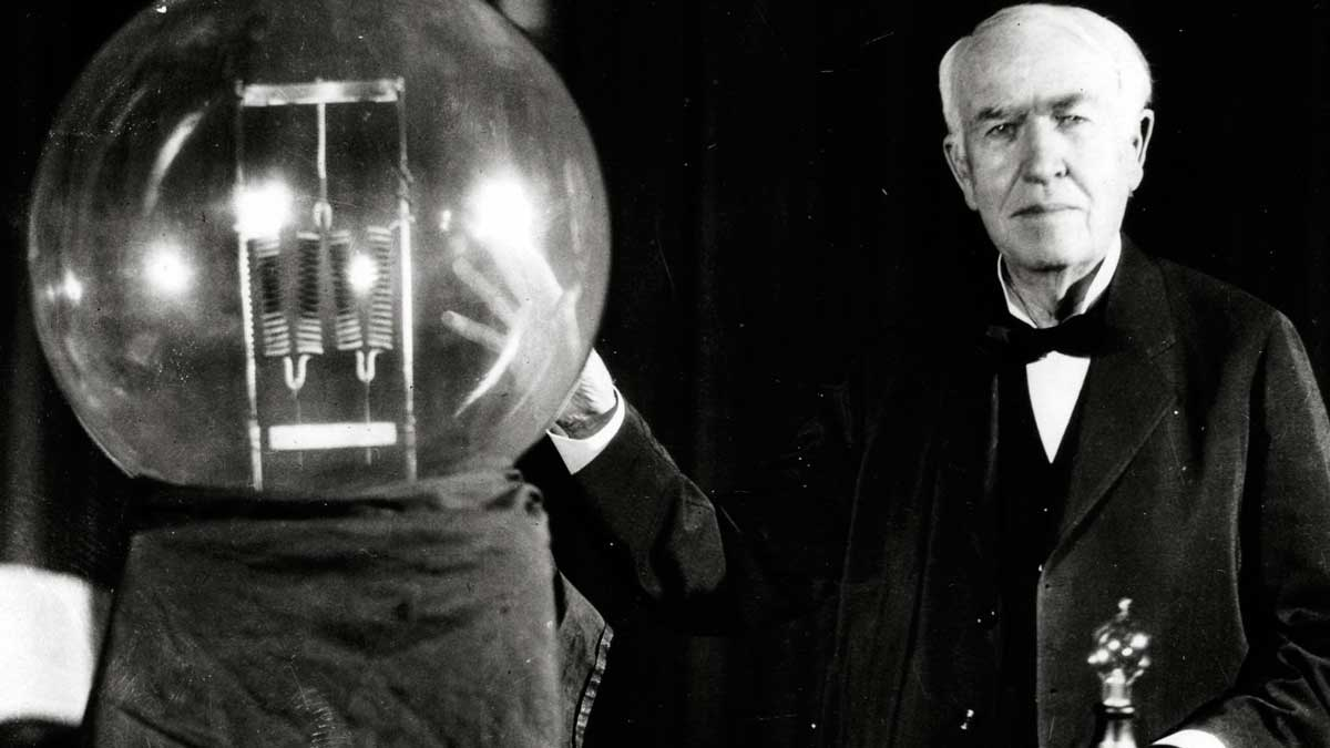 La Bombilla De Thomas Edison Cumple Hoy 140 Anos