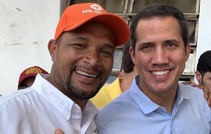 Edmundo Rada y Juan Guaidó