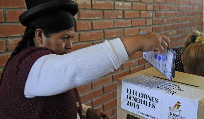 Bolivia fraude