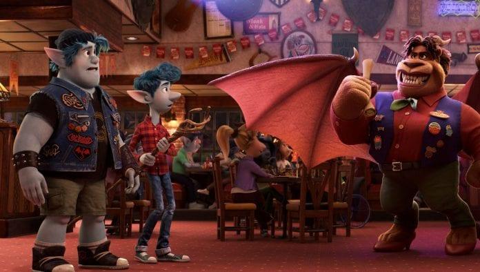 Disney Pixar película Onward
