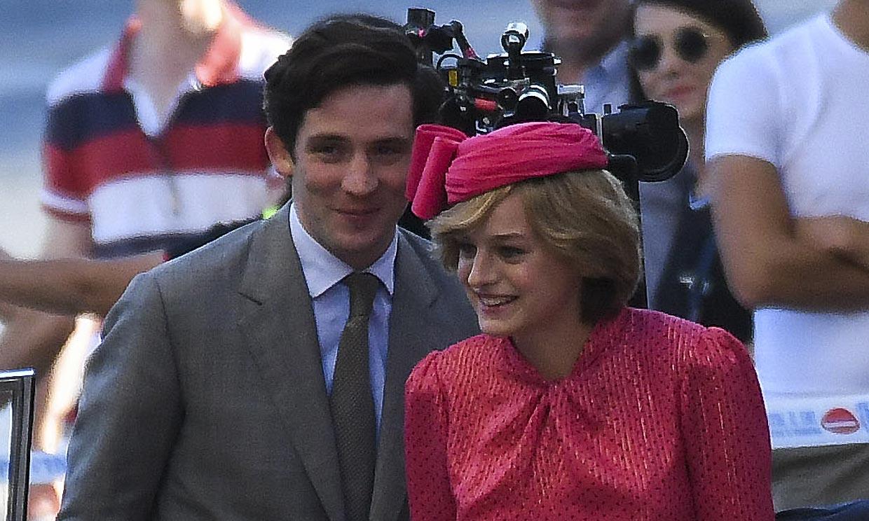 Las primeras imágenes de Emma Corrin como Lady Di en The Crown