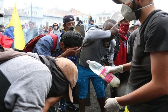 Protesta-Quito-Ecuador-muerto-represión