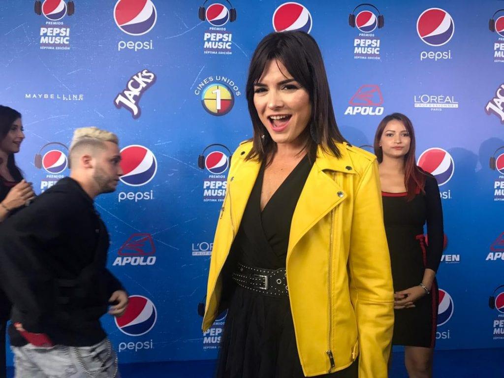 Jairam Navas voz de los Premios Pepsi Music