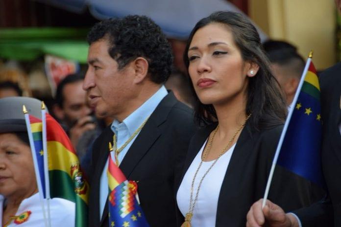 Adriana Salvatierra era la siguiente en la línea de sucesión a la presidencia
