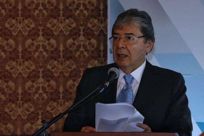 Carlos Holmes Trujillo, Crisis migratoria venezolana