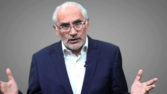 El ex candidato presidencial opositor de la alianza política Comunidad Ciudadana, Carlos Mesa