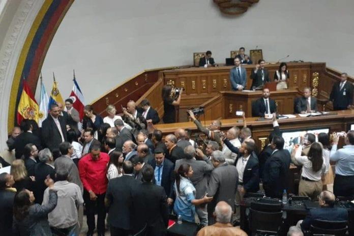 Diputados españoles en la Asamblea Nacional