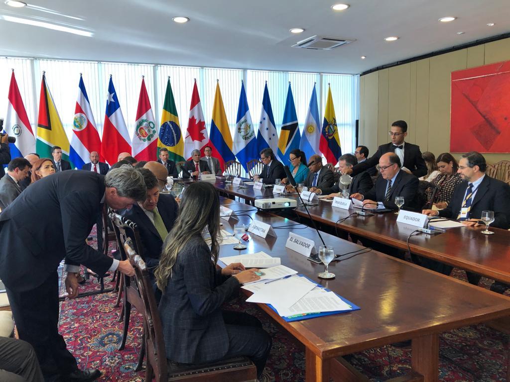 Grupo de Lima condena apoyo de Maduro a disidencias y ELN